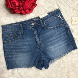 Universal Thread High Rise Cutoff Shorts